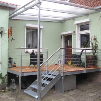 Terrasse mit Überdach – Walsrode