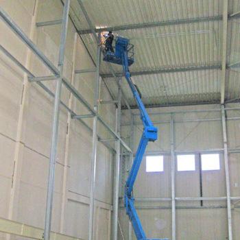 Stahlkonstruktion für Hallen-Innenwände