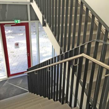 Treppengeländer, durchgehend von UG bis 3. OG
