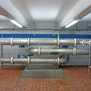 Umwälzeinrichtung für die Hydrophore aus Edelstahl 1A571 (V4A)