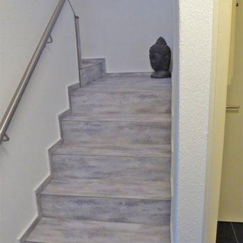 Handlauf und Treppengeländer aus Edelstahl
