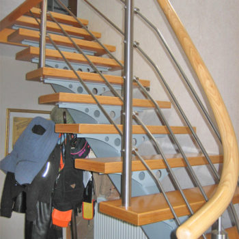 Einholmtreppe